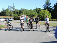 Congratulations to these riders on riding in the 100 Mile Ride to Castine and back!