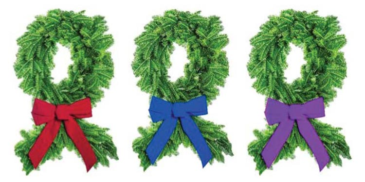 Purchase a Holiday Wreath to Support Our Center
