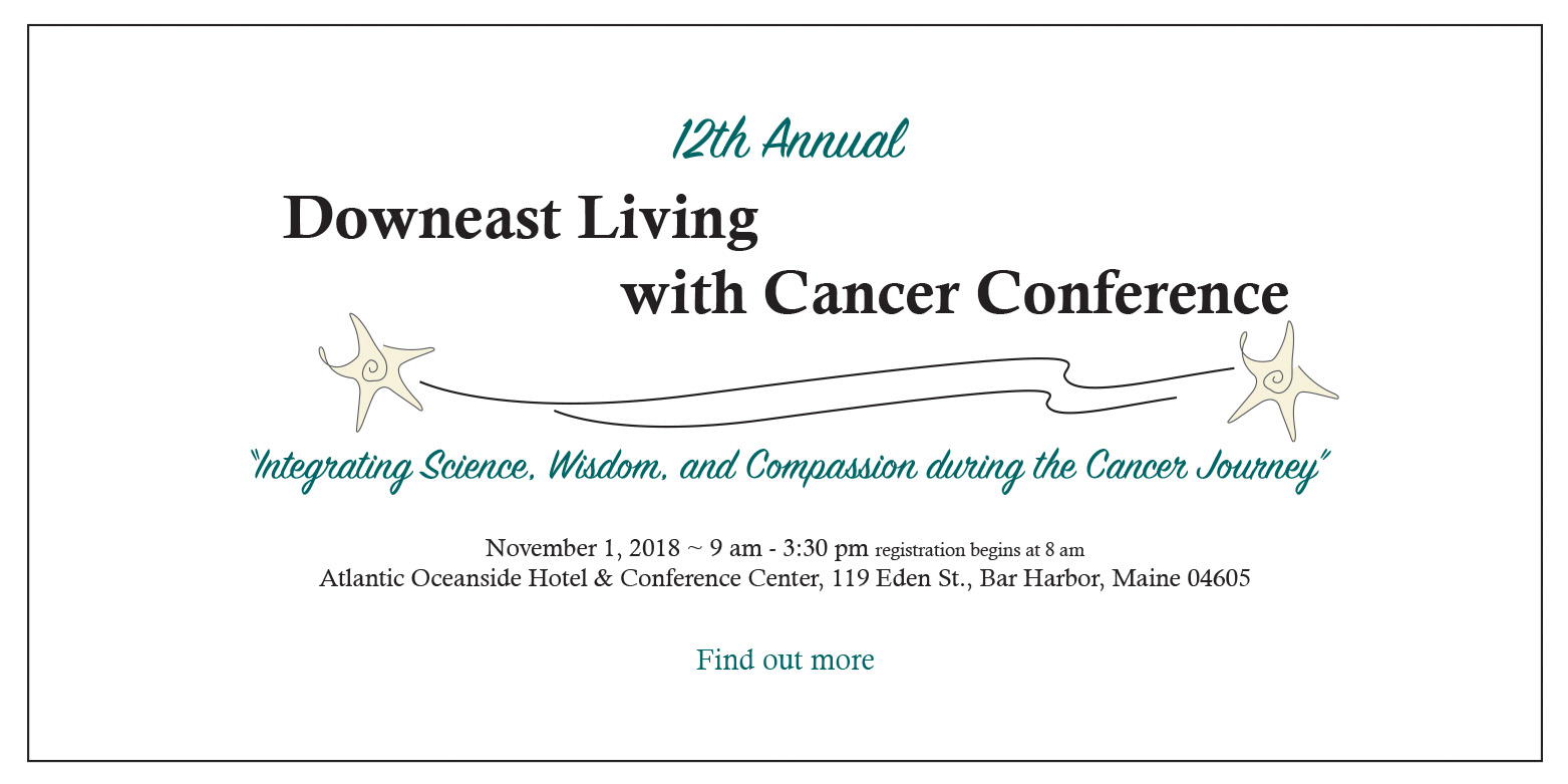 12th Annual Downeast Cancer Conference Slider