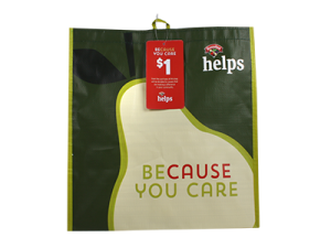 """Because You Care - Community Bag'"