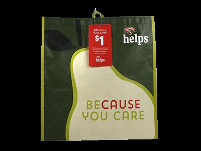 """Because You Care - Community Bag'"
